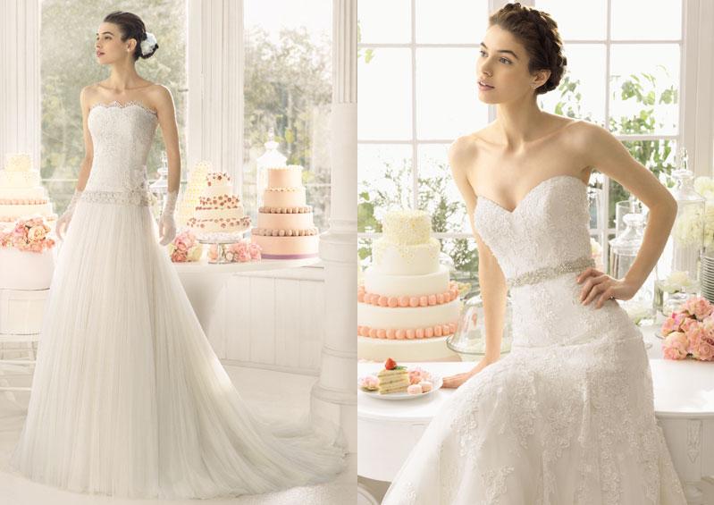 Espaldas de trajes de novia Luna Novias_2