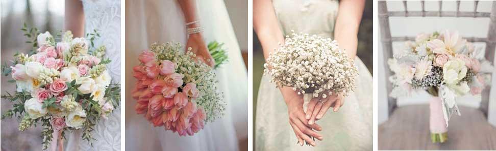 ¿De qué color será tu ramo de novia?