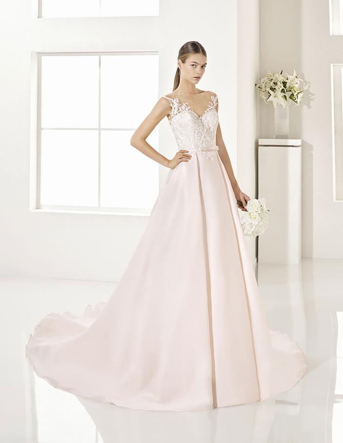 Trajes-de-novia-color-rosa-o-nude-Dress-Bori-Almanovia-GAROA-1
