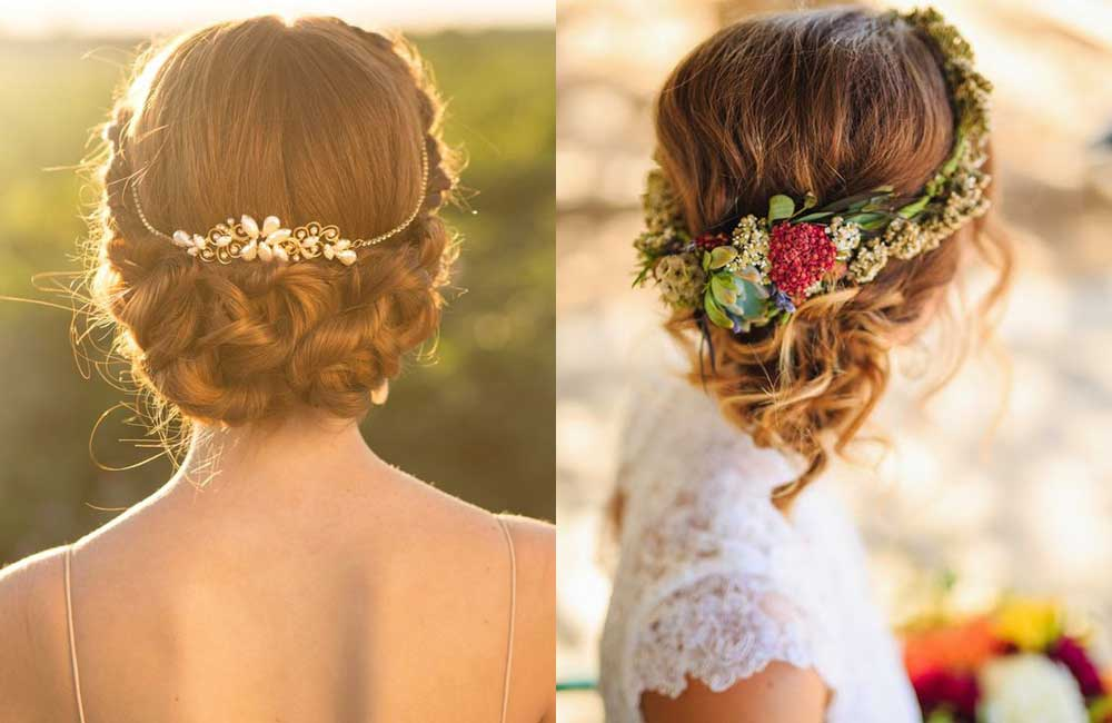 Peinados de novia. ¡Recogidos de boda!