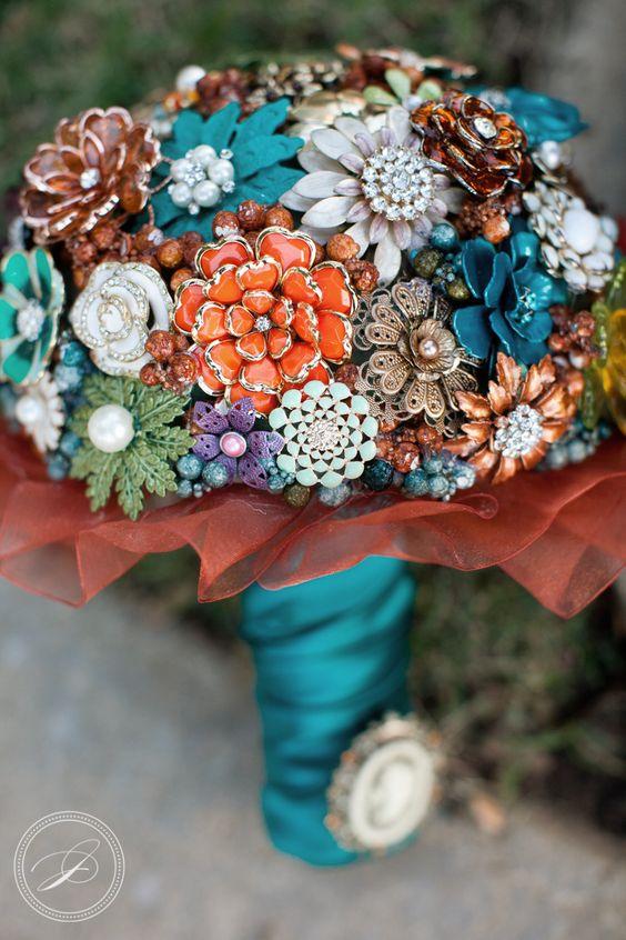 ramo de novia con broches-3