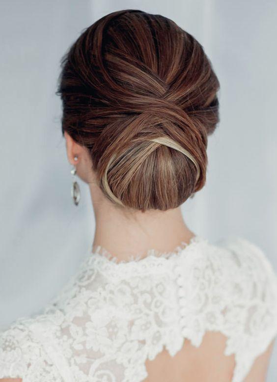 Peinados de novia recogidos de boda dressbori - Monos bajos novia ...