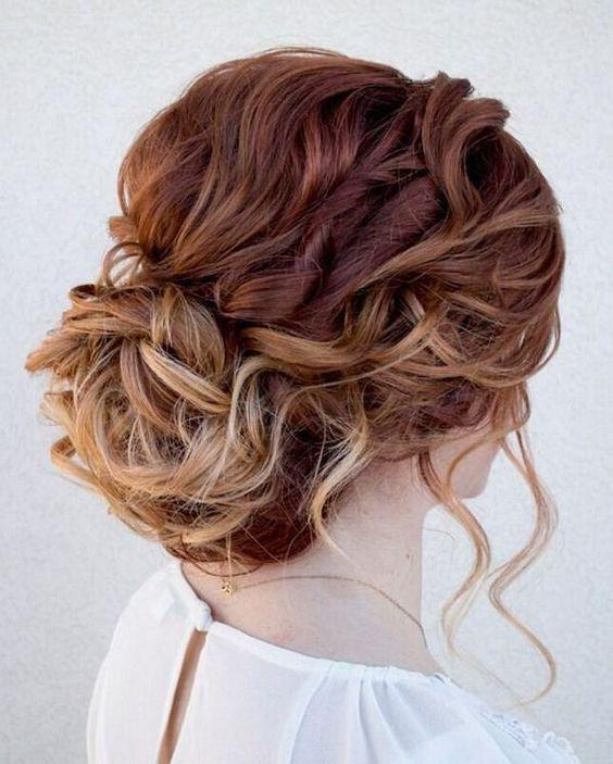 peinados de novia moos de boda - Recogidos De Novia Bajos
