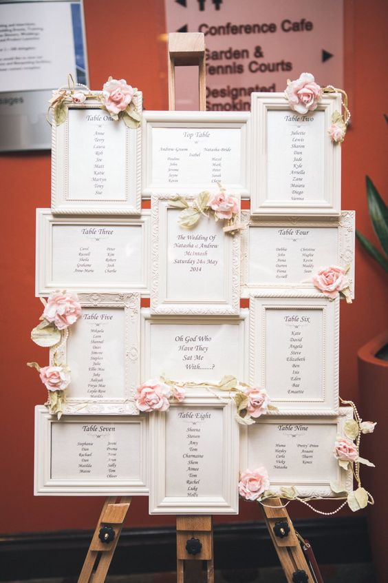 Ideas Seating plan para bodas-11