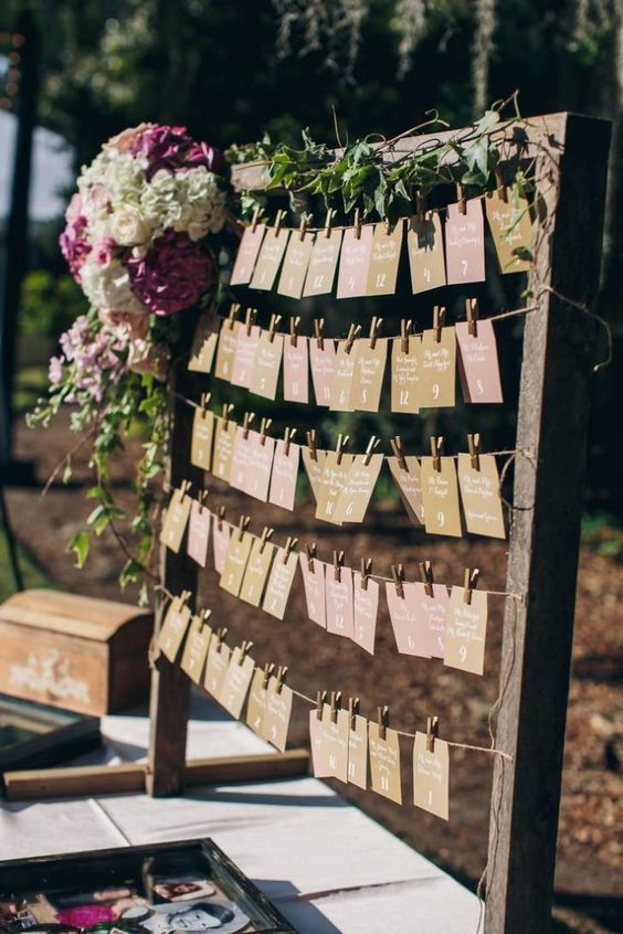 Ideas Seating plan para bodas-9