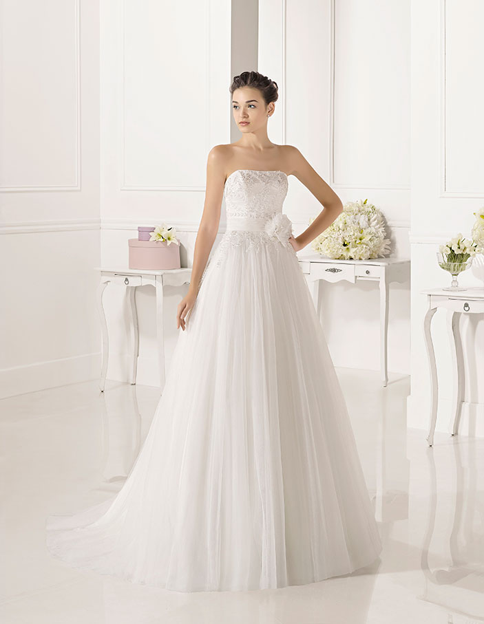 Palabra Honor–dress Novia De Zelma Bori Dressbori Trajes Modelo 7OzZA