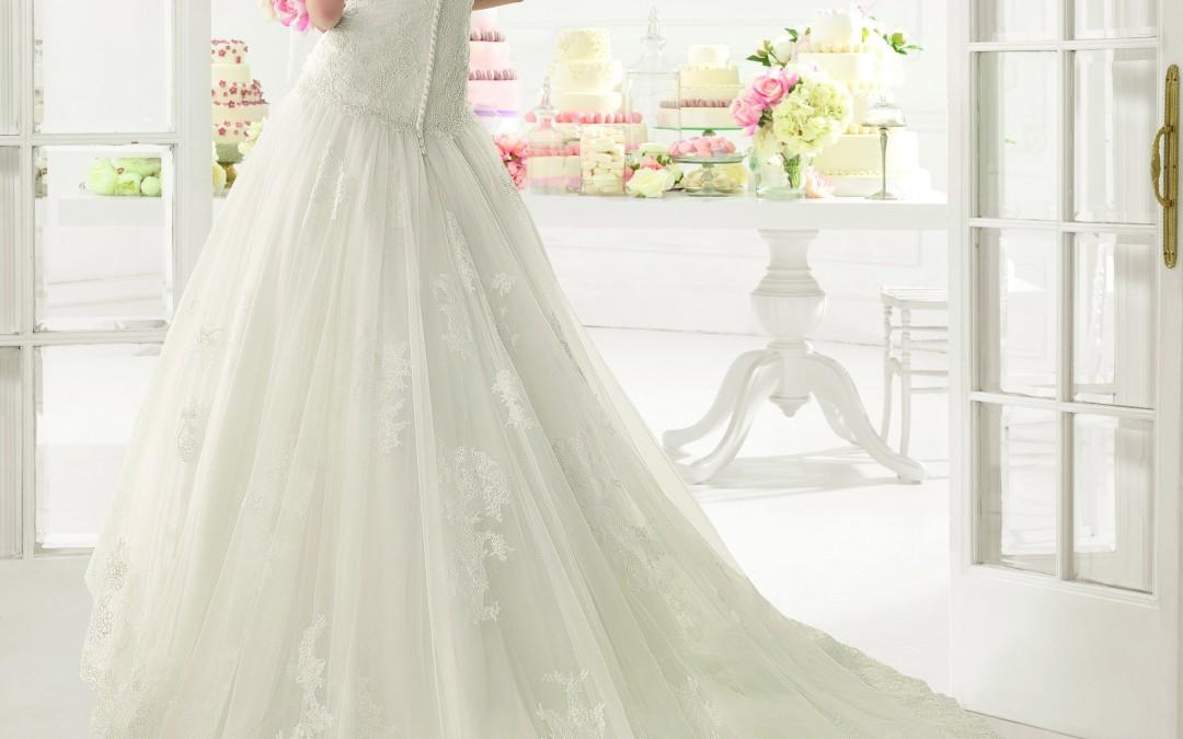 Un repaso a los tipos de cola en los vestidos de novia