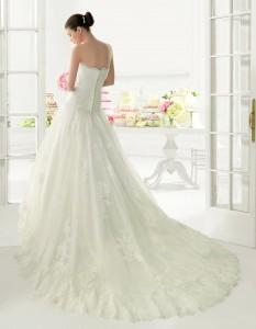 Vestido de novia modelo Olot de Luna Novia
