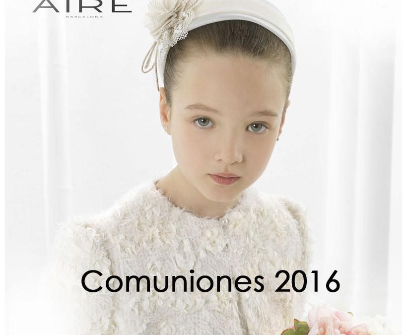 Vestidos de Comunión 2016