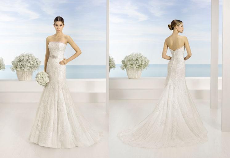 Espaldas de trajes de novia Luna Novias
