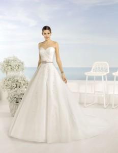 Vestidos de novia Almanovia.Línea Princesa-Dress Bori