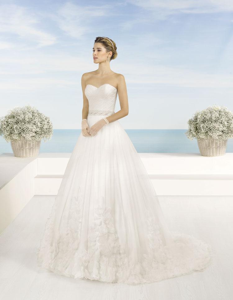 Vestidos de novia Almanovia.Línea Princesa-Dress Bori-mod tanger