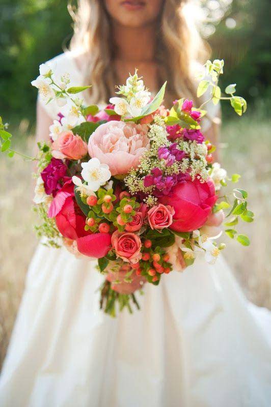 colores para el ramo de novia