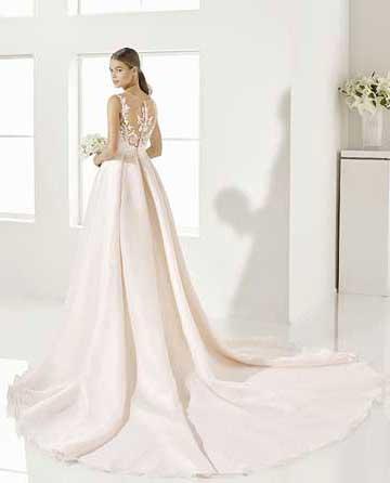 Vestidos de novia de color rosa