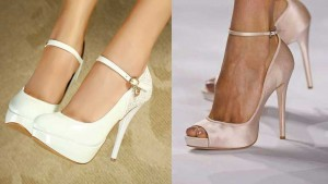 Zapatos de novia con hebilla-Calzado novias