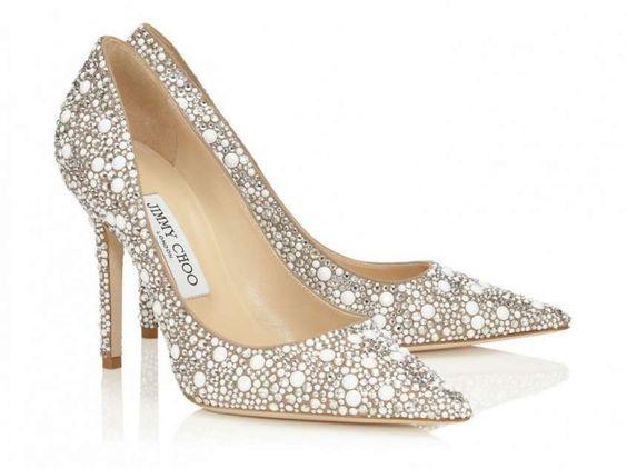 zapatos de novia con pedreria-jimmy choo