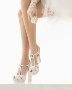zapatos de novia rosa clara-tacon grueso