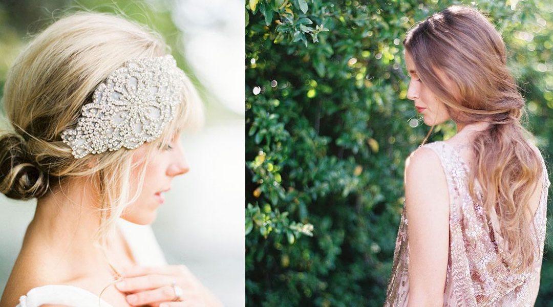 Elige el peinado de novia perfecto para tí