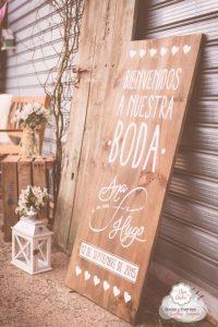 carteles personalizados de boda